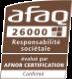 Certification AFAQ 26000 niveau confirmé