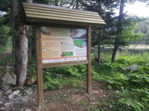 Panneaux d'informations pour sensibiliser et préserver la biodiversité
